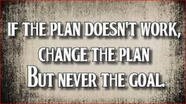 If the plan doesn't work