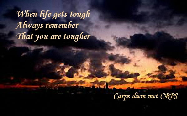 When life gets tough always remember that you are tougher